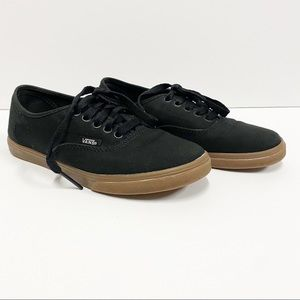 Vans Authentic Black Canvas Sneakers
